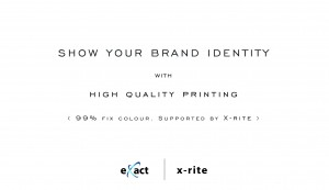 show your brand identity with X-rite